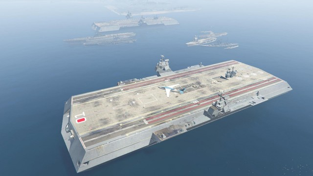 Mega Aircraft Carrier (Add-On)