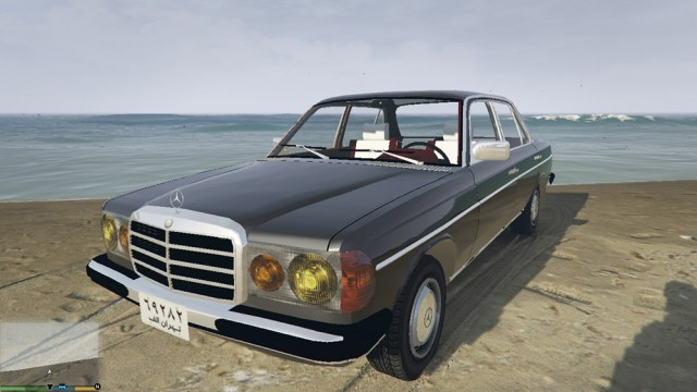 Mercedes-Benz 230 W123 1978 v1.0.0 (Add-On/Replace)