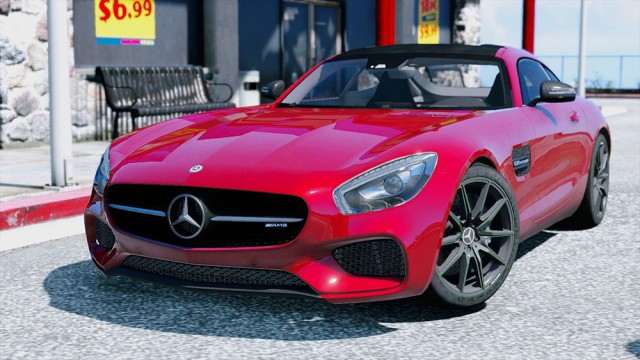 Mercedes-Benz AMG GT 2016 (Replace/Add-On) v2.2