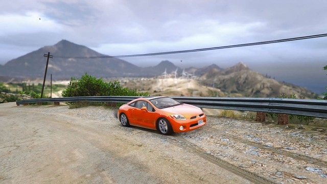 Mitsubishi Eclipse 2006 (Add-On/Replace) v1.2