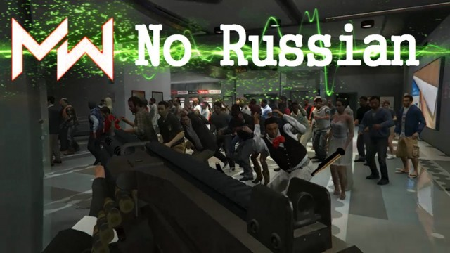 "Modern Warfare ""No Russian"" Mission"