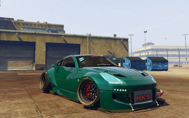 Nissan 350z Rocket Bunny Kit v0.1
