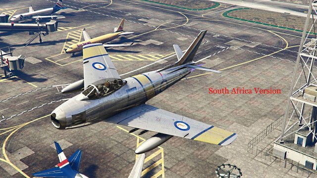 North American Sabre F-86F (Oceania & Africa Pack) (Add-On) v1.0