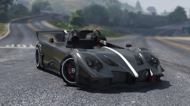 Pagani Zonda LM-R Ragno 2016 v1.0 (Add-on)