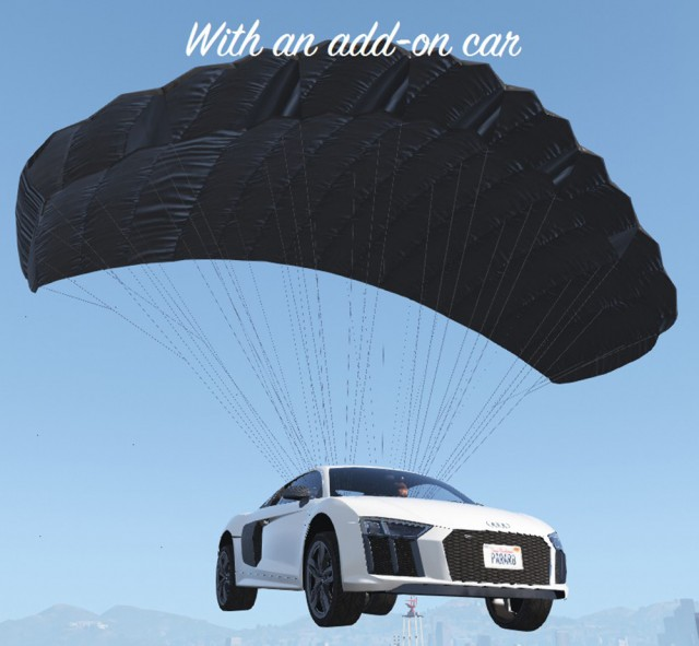Parachute for all vehicles