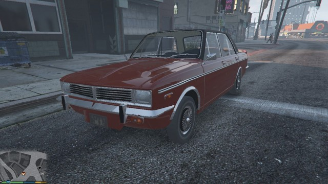 Paykan Deluxe 2535 1977 v2.0 (Add-On/Replace)