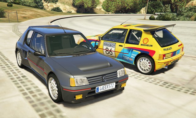 Peugeot 205 Turbo 16 v1.2 (Add-on)