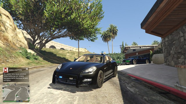 Porsche Panamera Turbo Kripo Polizei v1.00 beta