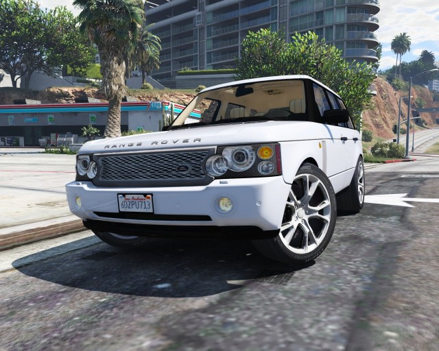 Range Rover Supercharged 2010 (Add-On / Replace) v2.2