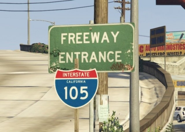 Real Interstate Shields