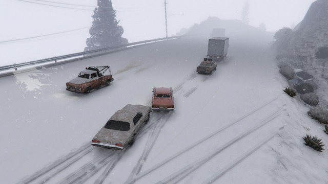 Realistic Snow Traction v1.0