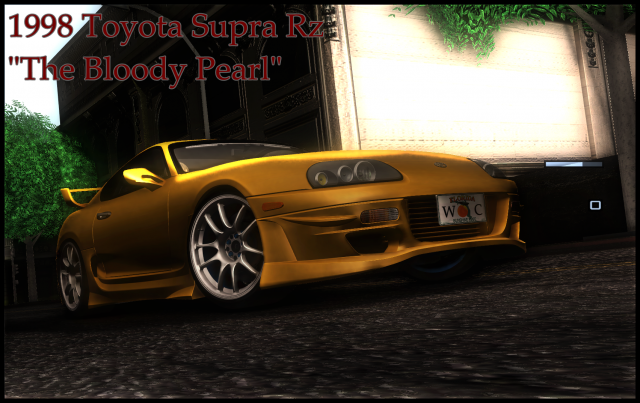 "1998 Toyota Supra RZ ""The Bloody Pearl"""