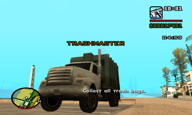 Trashmaster Mission from GTA LCS