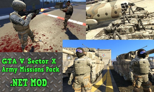 Sector X Army Missions Pack - 9 Missions v3.2.1 (Full Version)