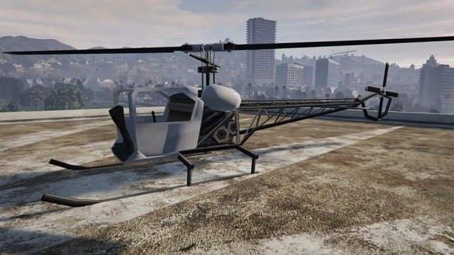 Sparrow from GTA SA v0.9
