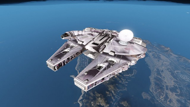 Star Wars Millenium Falcon (Add-On/Replace) v7.0