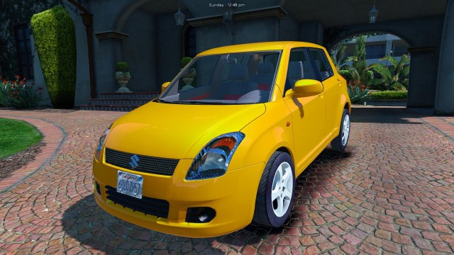 Suzuki Swift (Add-On/Replace) v1.1
