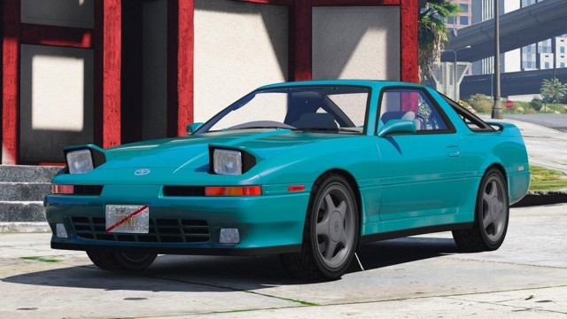 Toyota Supra Turbo Mk3 1992 (Add-on/Replace)