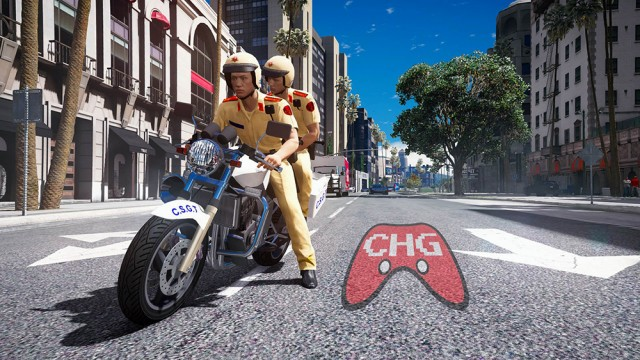 Vietnam Traffic Control Police Bike (Add-On) v1.0