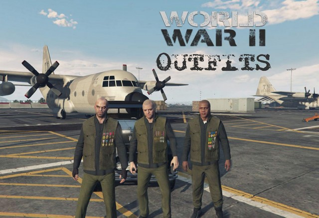 World War II Outfits for Protagonists v0.1