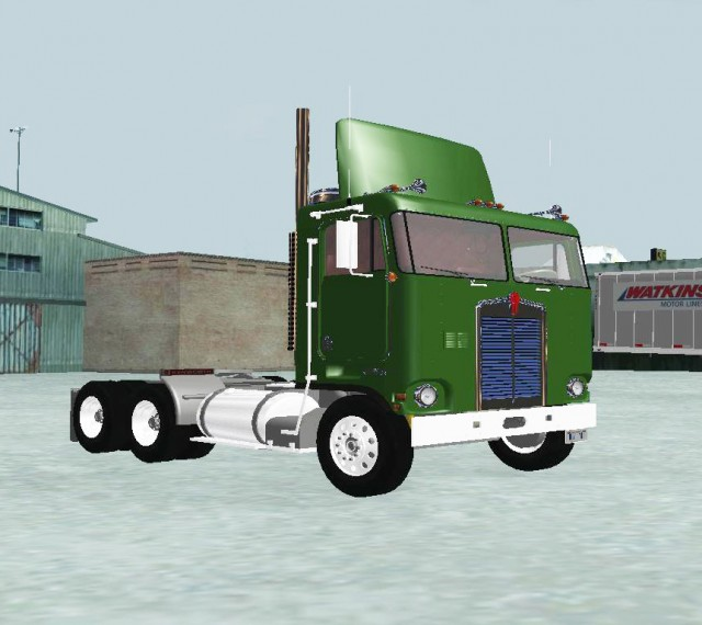 Kenworth K100 Day Cab 1970