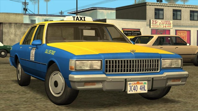 Chevrolet Caprice Taxi 1989