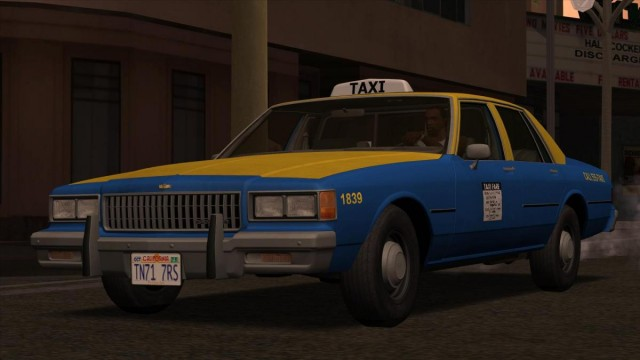 Chevrolet Caprice Taxi 1986