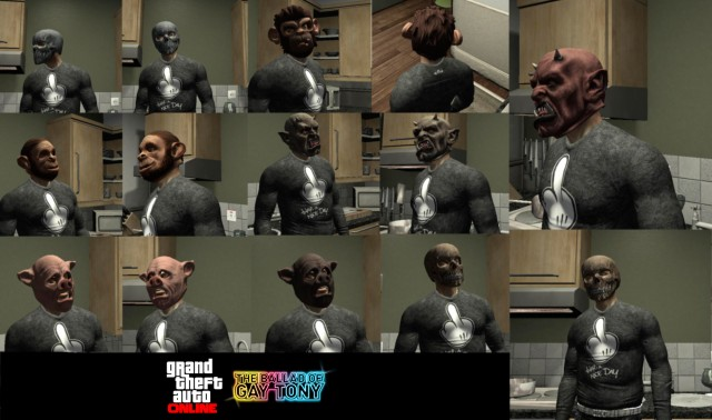 Masks from GTA Online [TBOGT]