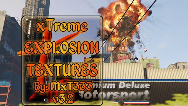 xTreme Explosion Textures v3.2
