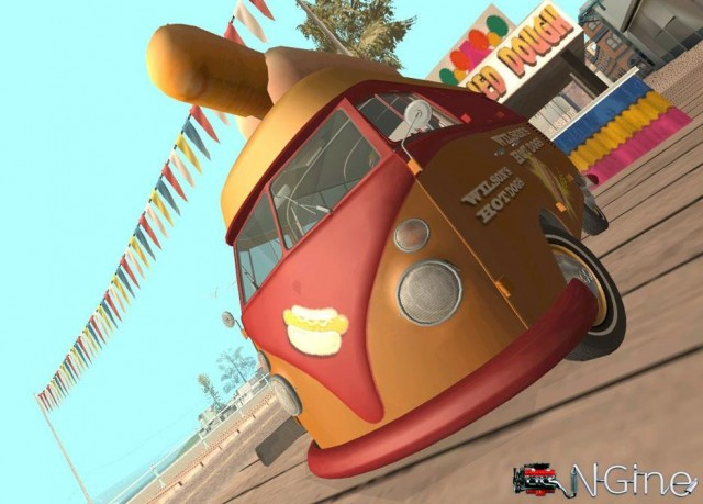 Volkswagen T1 1958 Hot Dog