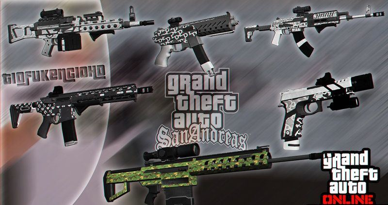Weapons Dlc Gunrunning Gta V скачать для Gta San Andreas