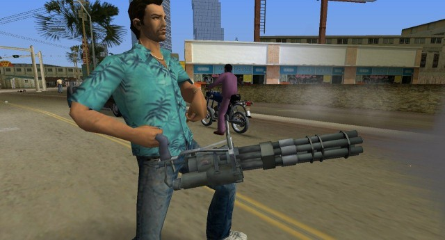 Mini-Gun (Saints Row 2)