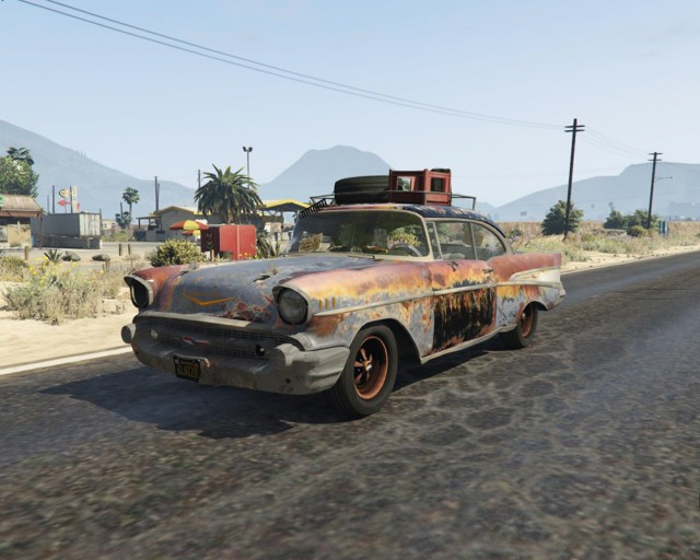 Chevrolet Bel Air (Rusty Version) 1957 v1.2