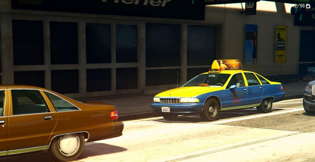Chevrolet Caprice Taxi 1991 (Add-On/Replace)