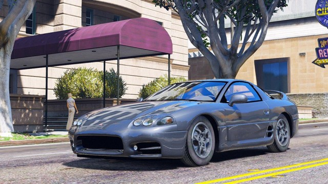Mitsubishi 3000 GT 1999 (Add-On/Replace)