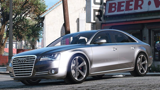Audi A8 FSI (Add-On/Replace) v4.0