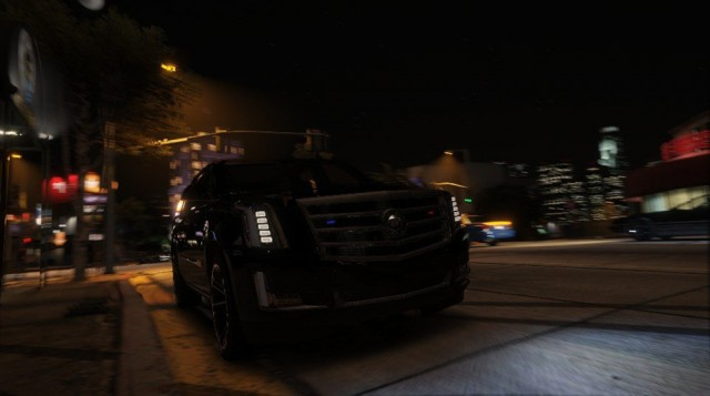 Cadillac Escalade FBI 2015 (Add-On) v1.1