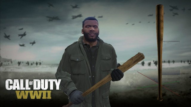 Call of Duty: WWII Baseball-bat v1.0