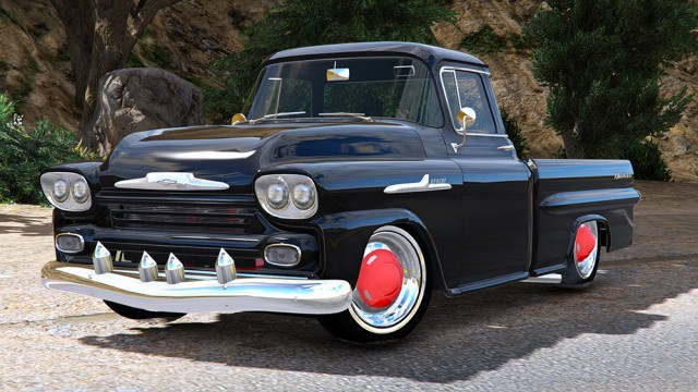 Chevrolet Apache Fleetside 1959 v1.8