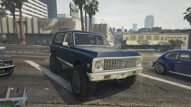 Chevrolet Blazer 1971 (Add-On/Replace) v1.0.0