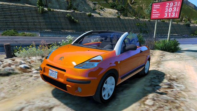 Citroen C3 Pluriel (Add-on/Replace) v1.0