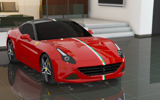 Ferrari California T 2015 (Add-On/Replace) v1.6