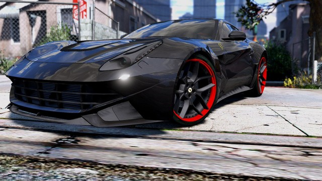 Ferrari F12 N-Largo Rosso DTD Edition (Add-On) v1.0