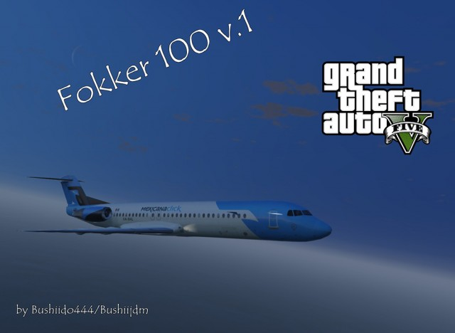 Fokker 100 (Add-On/Replace) v2.0