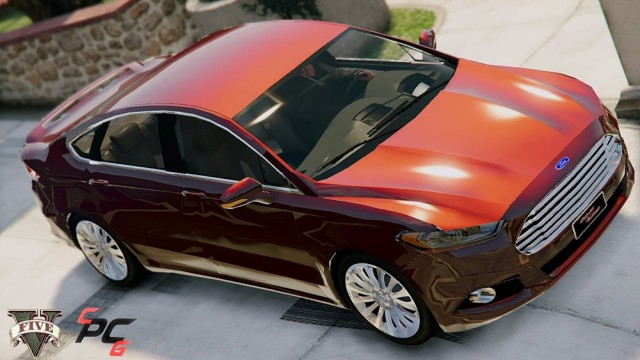 Ford Fusion Titanium 2015 (Add-On/Replace) v1.2