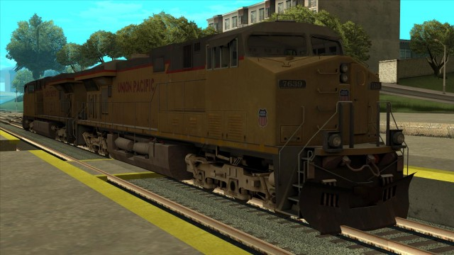 GE ES44AC Union Pacific Freight (Reverse Cab)