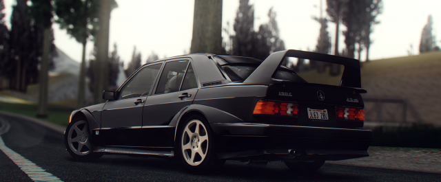 1990 Mercedes-Benz 190E 2.5-16 Evolution II (W201)