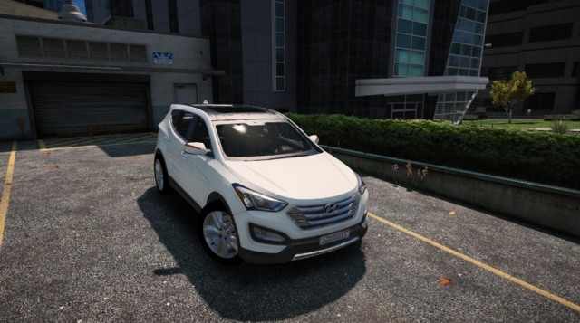 Hyundai Santa Fe 2013 (Add-On/Replace) v2.5