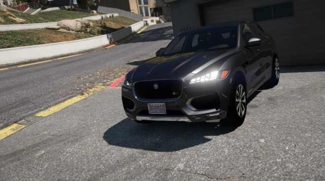 Jaguar F-Pace S 2017 (Add-On/Replace) v1.1