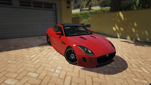 Jaguar F-type Coupe 2017 (Add-On) v1.0